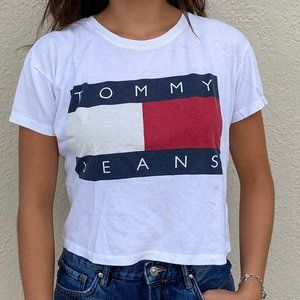 Tommy Hilfiger for Urban Outfitters 90s Crop Top
